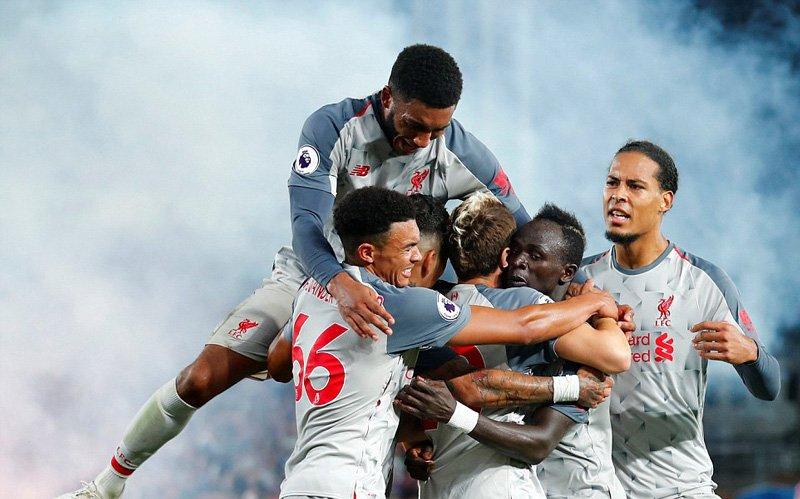 Thắng nhẹ Crystal Palace, Liverpool vươn lên vị trí số 2