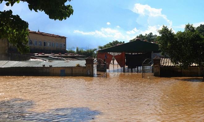 Nước lũ, Nghệ An, ngập nặng