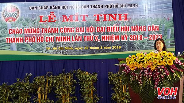 Đại hội đại biểu Hội Nông dân TP.HCM