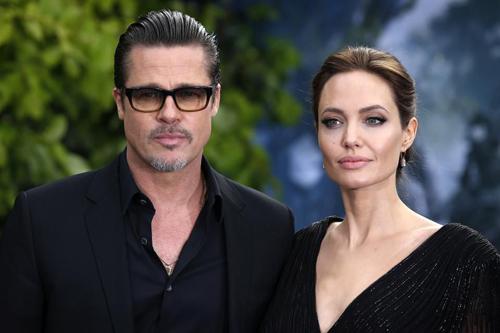 Brad Pitt, Angelina Jolie, li dị