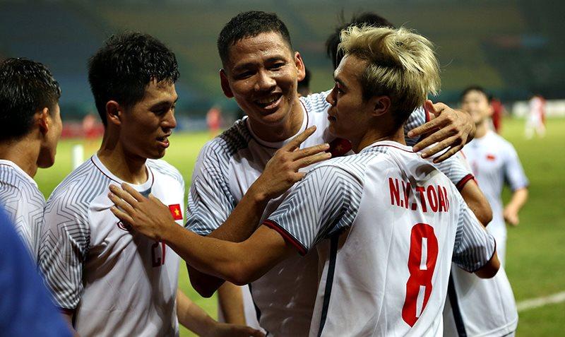 Các cầu thủOlympic Việt Nam lập kỳ tích tại Asiad 2018.
