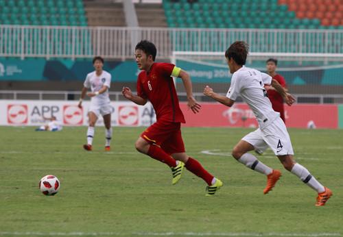 Olympic Việt Nam thua đầy tiếc nuối trước Hàn Quốc
