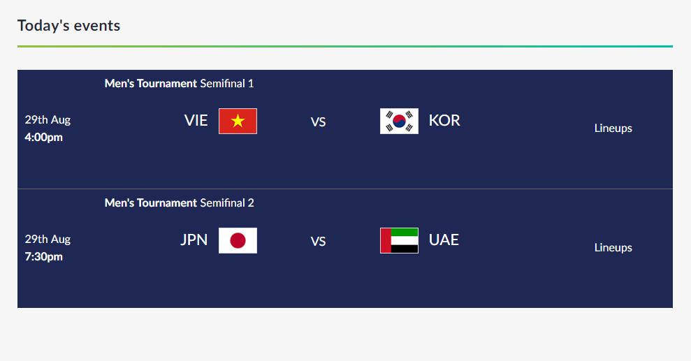 Xem trận Olympic Việt Nam - Hàn Quốc tại Asiad 2018 như thế nào?