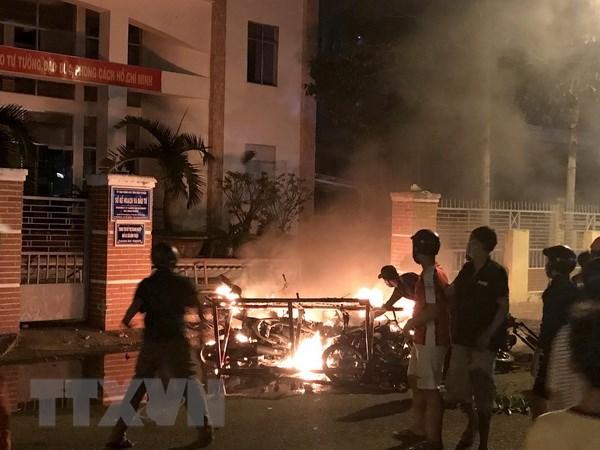 Bình Thuận, gây rối