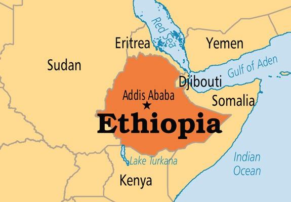 Rơi máy bay quân sự Ethiopia, toàn bộ 18 người thiệt mạng