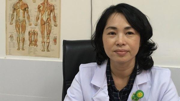 Bác sĩ Nguyễn Thụy Song Hà - Phó chủ nhiệm Bộ môn Y học Thể Thao - Trường Đại học Y khoa Phạm Ngọc Thạch lưu ý đối với những người luyện tập TDTT.