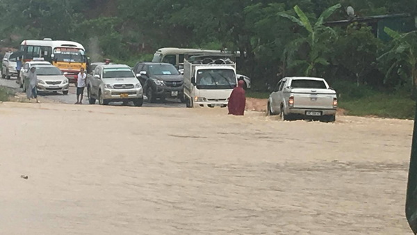guy cơ cao xảy ra lũ quét, sạt lở đất ở vùng núi, ngập úng vùng trũng thấp các tỉnh từ Nghệ An đến Quảng Bình.