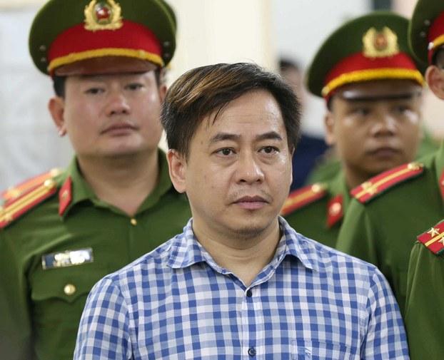 Phan Văn Anh Vũ - bị can trong vụ án tại DAB