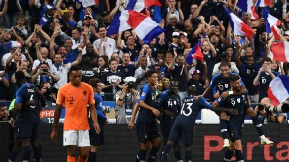Kết quả bóng đá UEFA Nations League 10/9/2018: ĐKVĐ thế giới Pháp hạ Hà Lan