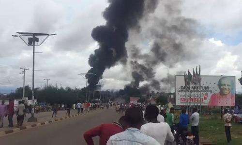 xe bồn, nổ xe bồn, Nigeria