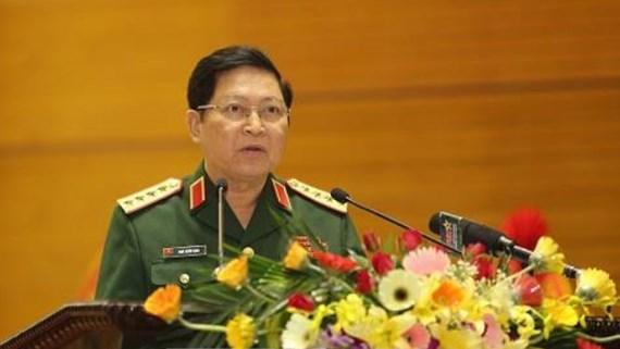 Trao Huy hiệu Đảng cho Đại tướng Phùng Quang Thanh và Đại tướng Ngô Xuân Lịch