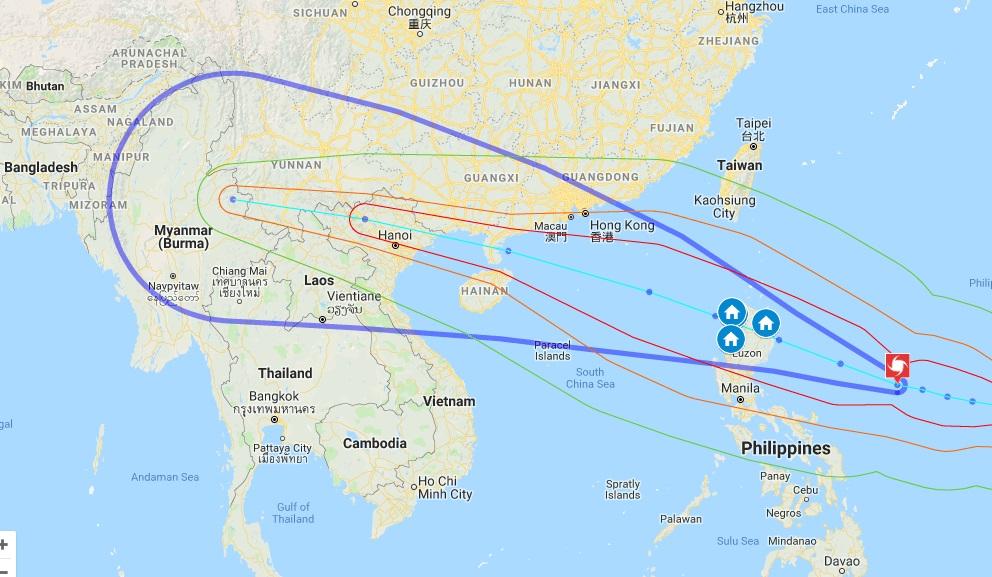 Siêu bão Mangkhut, bão 2018, bão Mangkhut