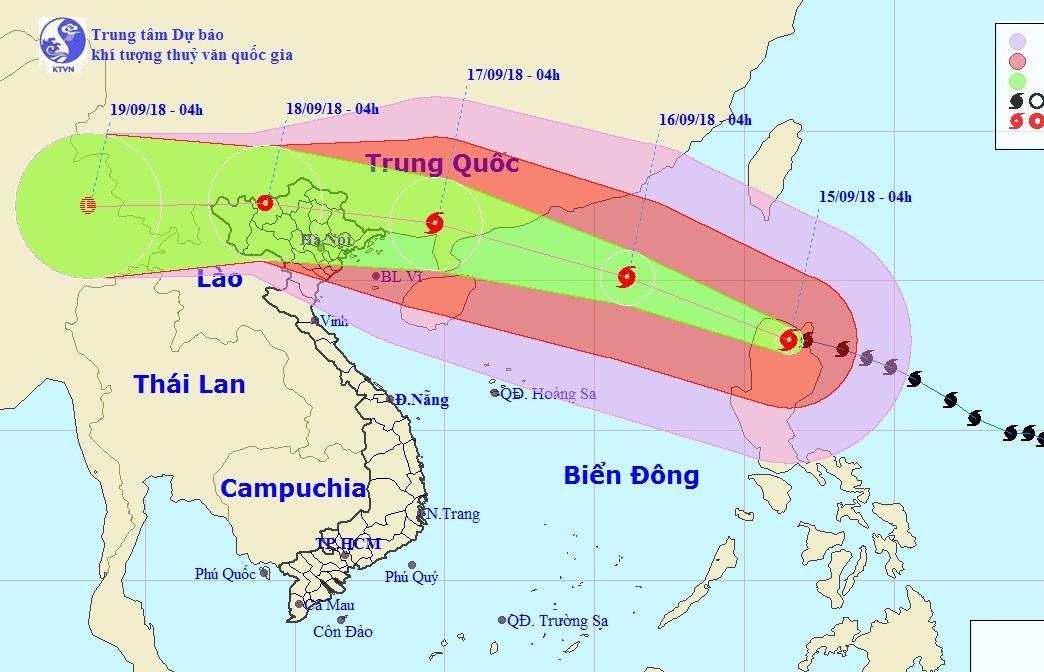 bão Mangkhut, siêu bão Mangkhut, bão 2018