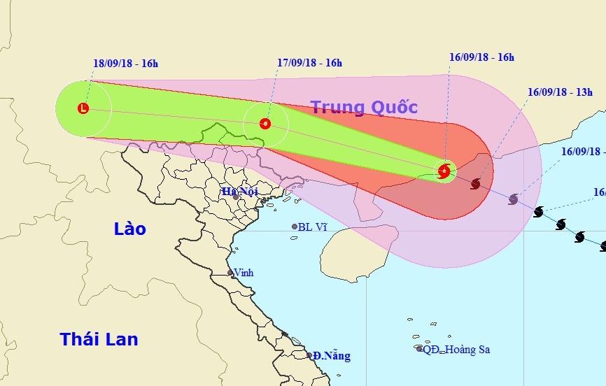 bão số 6, bão 2018, bão Mangkhut