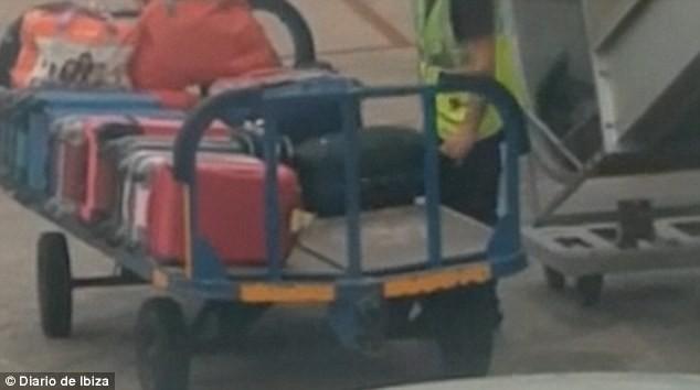 nhân viên sân bay, ăn trôm, trộm đồ