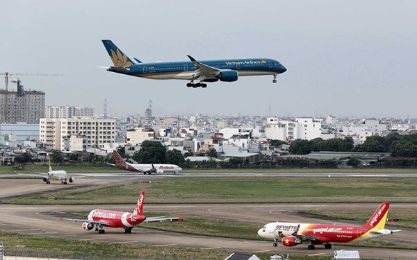 Công suất toàn cảng hàng không quốc tế Tân Sơn Nhất được quy hoạch đến 2020 đạt 50 triệu khách/năm