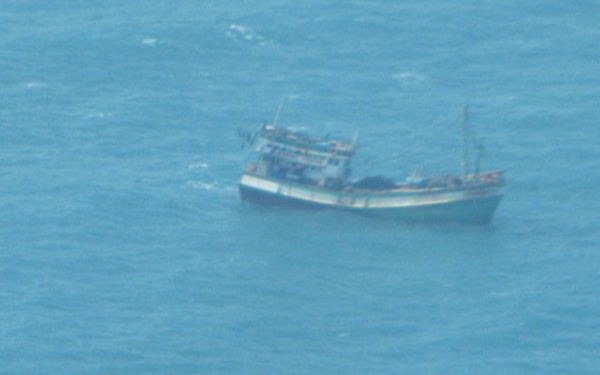 Tìm kiếm thuyền viên mất tích