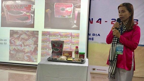 Dự án nâng cao giá trị cây sen Tam Nông - Sữa hạt sen Ba Tre của Nguyễn Thúy Kiều