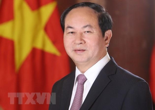 Chủ tịch nước Trần Đại Quang, quốc tang