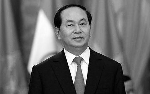 Chủ tịch nước Trần Đại Quang,
