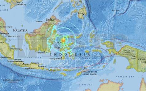 Hình ảnh tâm chấn trận động đất mạnh 7,5 độ Richter gần Palu, Indonesia