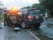 Tai nạn ôtô nghiêm trọng ở Bà Rịa-Vũng Tàu, 8 người thương vong