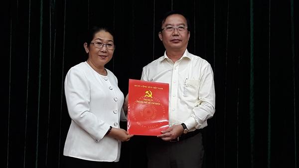 Ông Trần Thế Thuận giữ chức vụ Chánh Văn phòng Thành ủy TPHCM