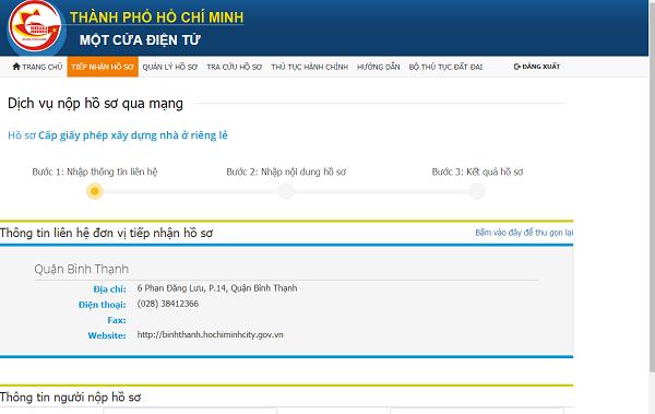 cấp phép xây dựng online voh.com.vn