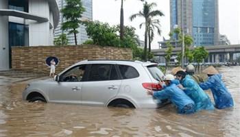 Kỹ năng lái xe ô tô khi đường ngập