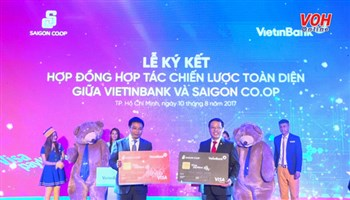 Saigon Co.op ký kết hợp tác toàn diện với Vietinbank để gia tăng lợi ích cho hơn 4 triệu khách hàng