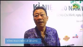 Nhạc sĩ Lê Quang bật mí thông tin chương trình 20 năm Làn Sóng Xanh