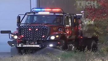 Xe cứu hỏa dành riêng cho địa hình phức tạp - BULLDOG EXTREME