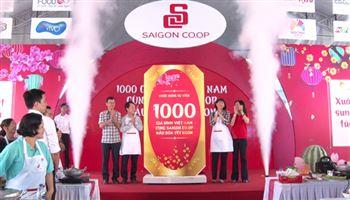 1.000 gia đình Việt Nam cùng Saigon Co.op nấu bữa Tết ngon
