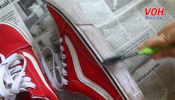 Bí quyết làm trắng giày hiệu quả