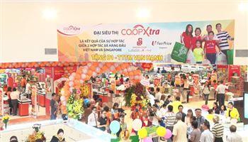 Liên doanh Việt Nam – Singapore đưa vào hoạt động đại siêu thị Co.opXtra thứ 3 tại TP.HCM
