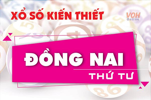 XSDN 11/7 - Kết quả xổ số Đồng Nai hôm nay thứ 4 11/07/2018