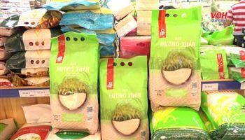 Gạo sạch Hương Xuân có mặt tại hệ thống Saigon Co.op