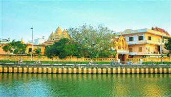 Chùa Chantarangsay viên ngọc Khmer giữa lòng thành phố