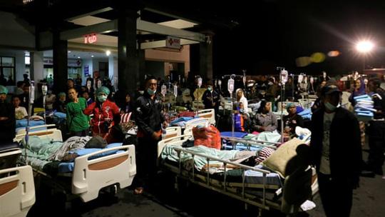 Trận động đất mạnh xảy ra ở hòn đảo du lịch Lombok của Indonesia hôm 5-8 giết chết ít nhất 82 người. Ảnh: Reuters