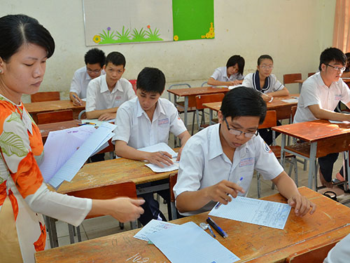 Dap an De thi tot nghiep 2014