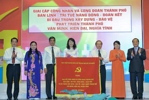 Tổng Liên đoàn lao động Việt Nam tích cực góp phần xây dựng giai cấp công nhân lớn mạnh