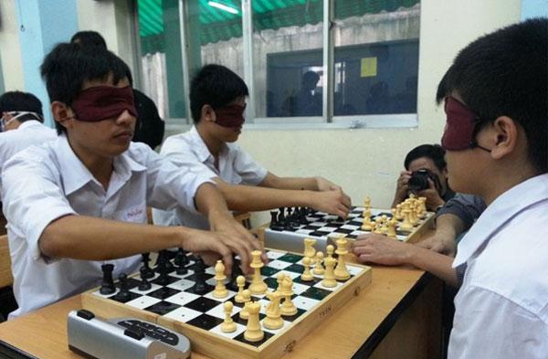 Khai mạc Giải cờ vua dành cho người Mù lần V năm 2018